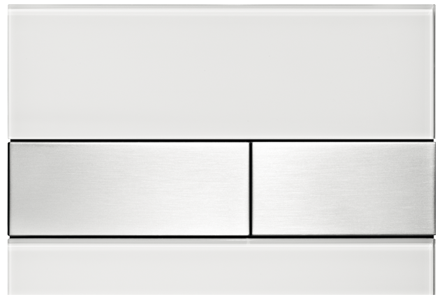 tecesquare-white-steel-flush-plate