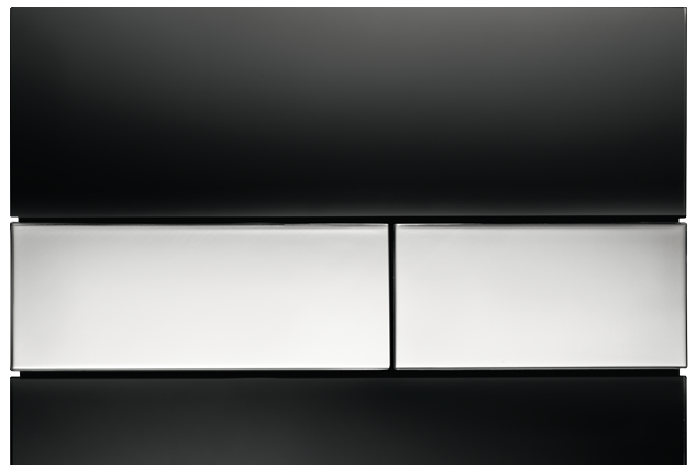 tecesquare-black-chrome-flush-plate