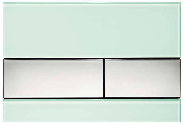 tecesquare-green-chrome-flush-plate
