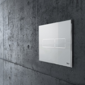 tece-lux-mini-white-flush-plate