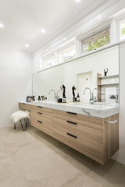 Glamorous Master Ensuite Renovation - Clarement, Perth