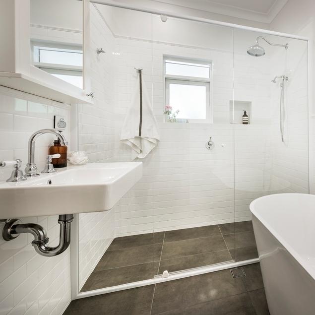 Classic Bathroom Renovation - Melville, Perth