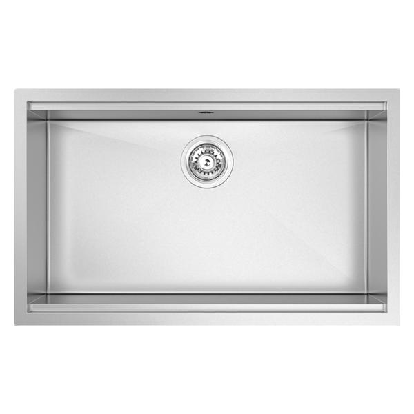 Single Bowl 700 Size: 750 x 460mm | Ref: 02/PZ700 | Undermount