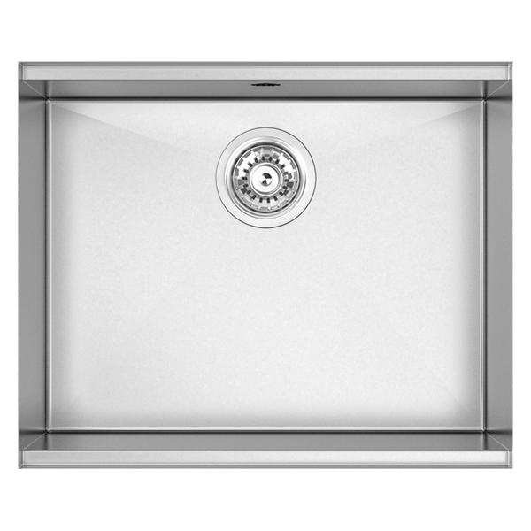 Single Bowl 500 Size: 550 x 460mm | Ref: 02/PZ500 | Undermount