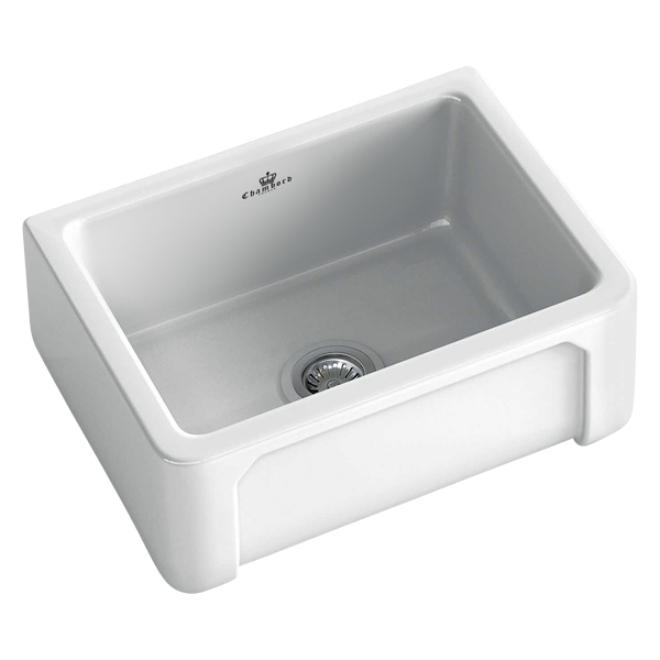 Henri I Butler Sink Size: 595 x 470mm | Ref: 02/HENRI-1W | Inset