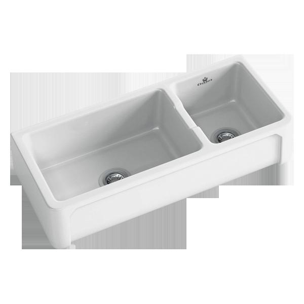 Henri III 1.5 Bowl Butler Sink Size: 997 x 470mm | Ref: 02/HENRI-3W | Inset