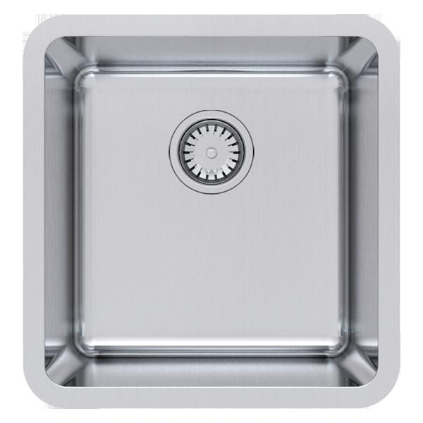 Single Bowl Undermount Size: 430 x 450mm | Ref: 02/LG100U | Undermount