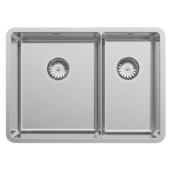 1.75 Bowl Size: 608 x 450mm | Ref: 02/LUA190 | Inset/Undermount/Flushmount