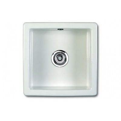 Classic Square Size: 460 x 460 x 191mm  |  29/SCSQ460WH  |  Drop-in/Undermount