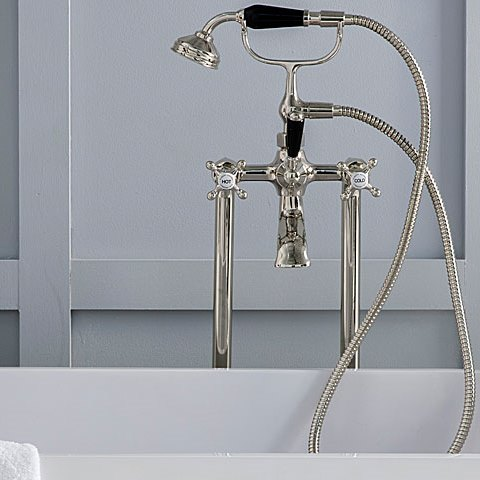 Edwardian Bath Mixer Set - Nickel finish.jpeg