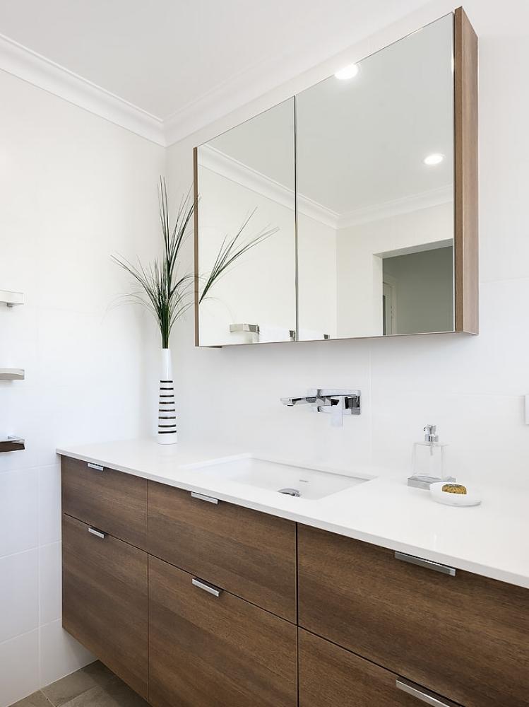 Stylish bathroom renovation Perth