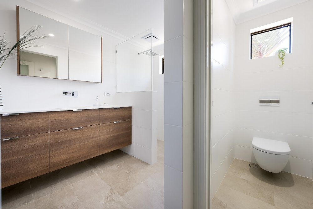 Streamlined Style bathroom renovation, Floreat