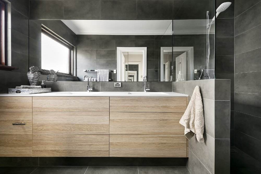 Hotel Luxury ensuite renovation, North Perth