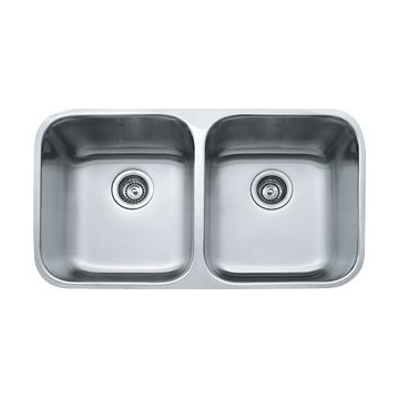 Franke Steel Queen Double Kitchen Sink — Lavare Bathrooms + ...