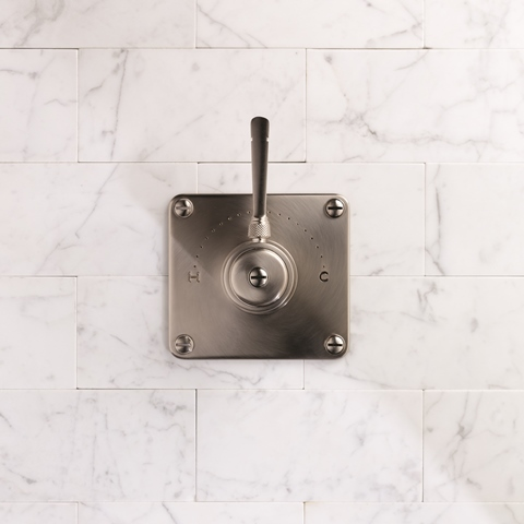 Industrica Shower Mixer in Brushed Nickel