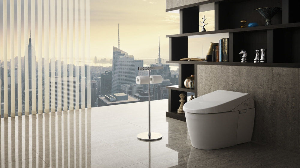 We sell Toto's world-renowned Washlets and luxury toilets