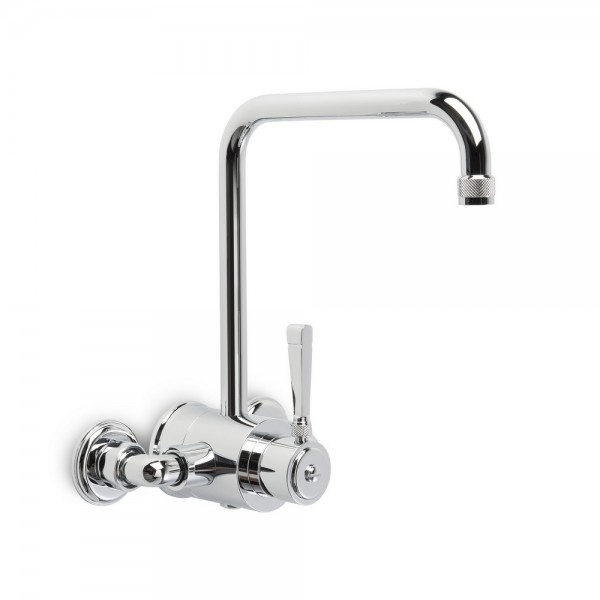 Brodware Industrica Wall Mixer Bath Set Square