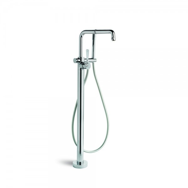 Brodware Industrica Floorstanding Bath Mixer + Handshower