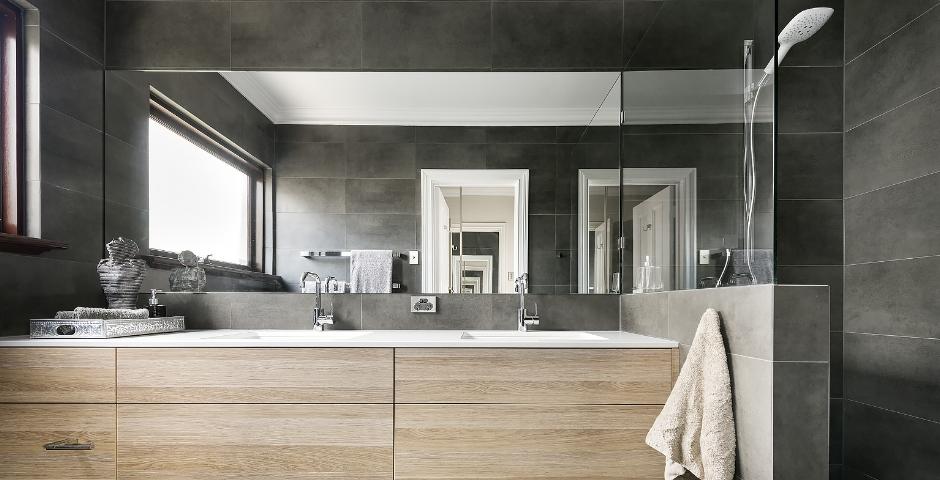 Contemporary Bathroom Renovation - North Perth