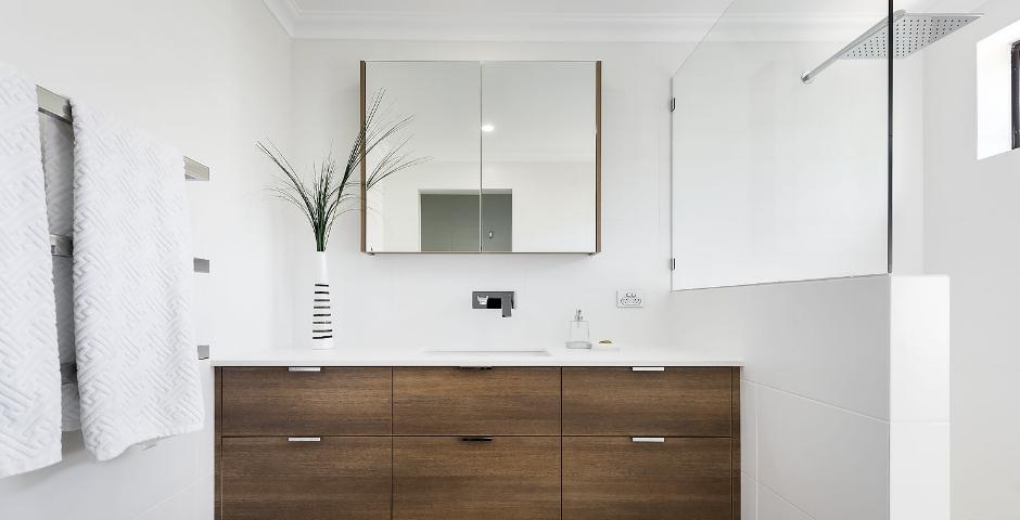 Contemporary Bathroom Renovation - Floreat