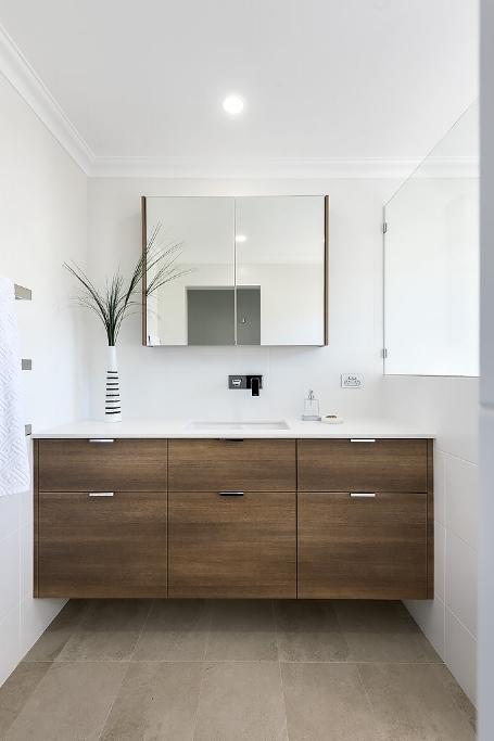 Lavare Contemporary Bathroom Renovation