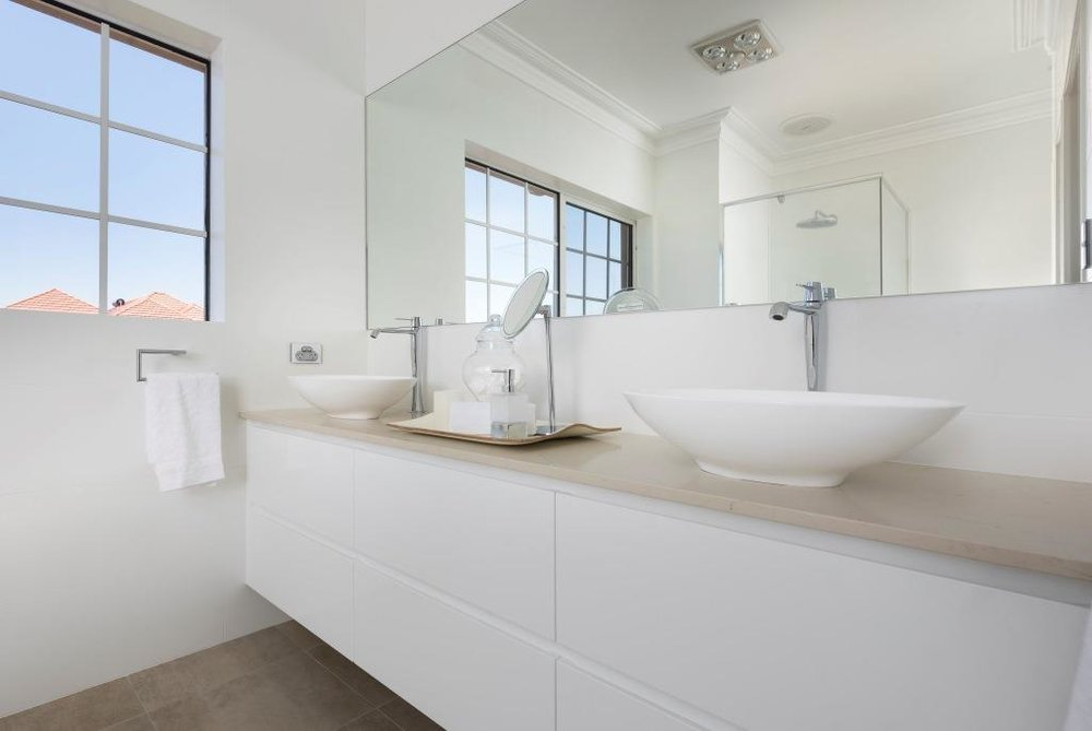 Modern Bathroom Renovation - City Beach Perth