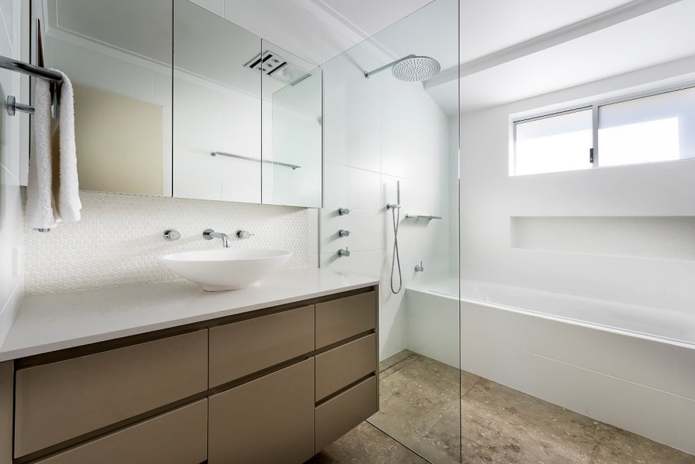 Modern Bathroom Renovation - Wembley Perth