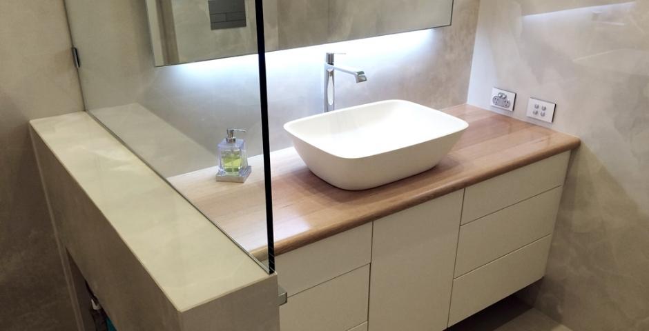 Contemporary Bathroom Renovation - Fremantle