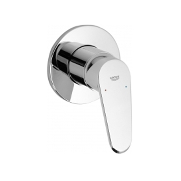 grohe eurodisc small round shower mixer lavare bathrooms. Black Bedroom Furniture Sets. Home Design Ideas