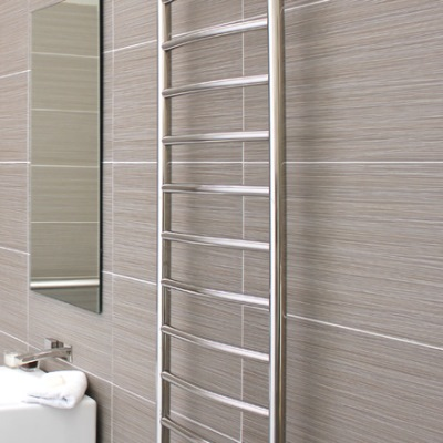 DC Short Niko Alto Heated Towel Rail