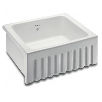 shaws-bowland-600-fireclay-kitchen-sink