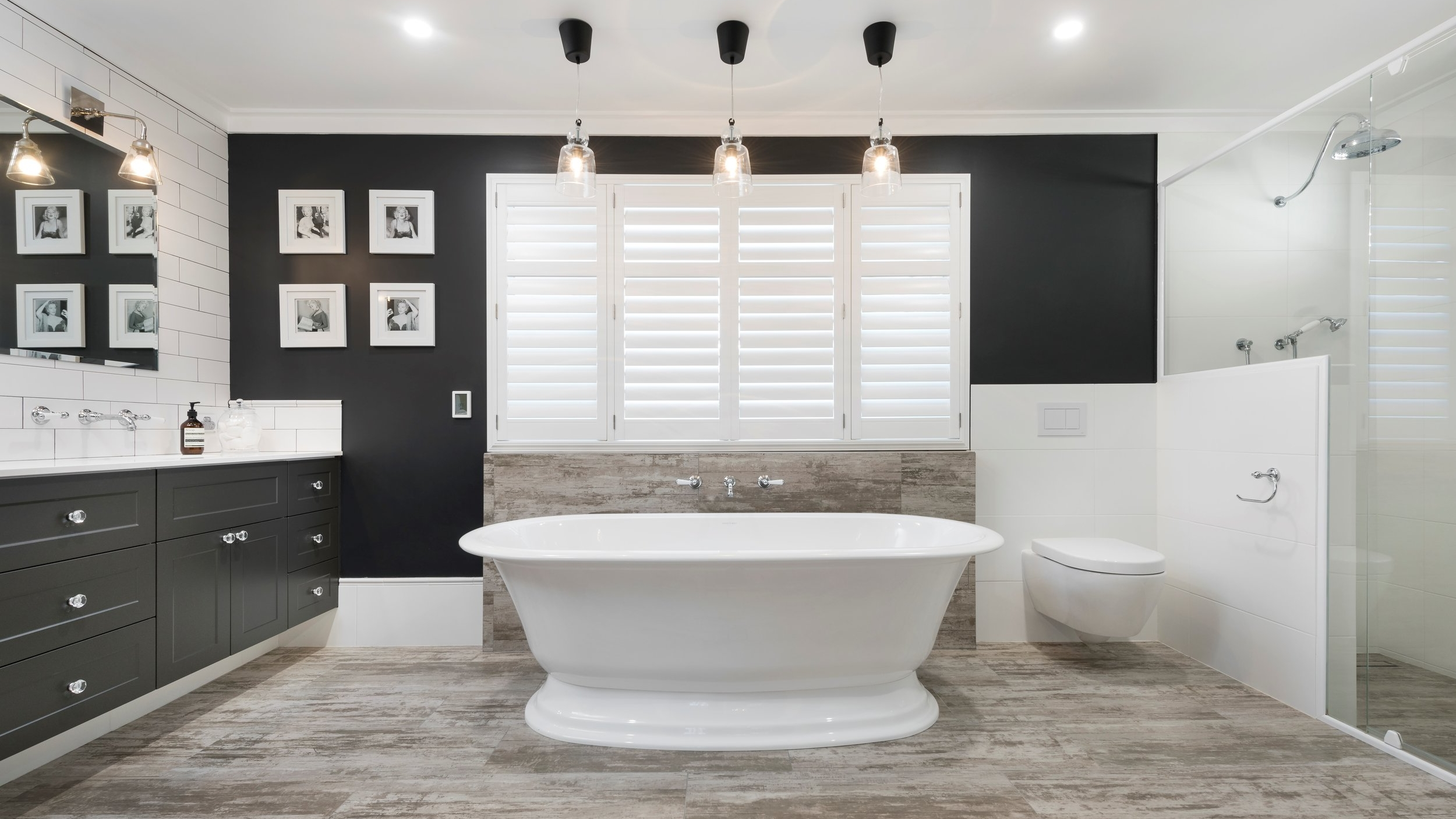 Hamptons Style Decor For Bathrooms And Kitchens