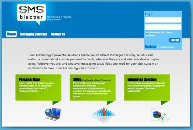 SMS Blazter - Bulk SMS service platform