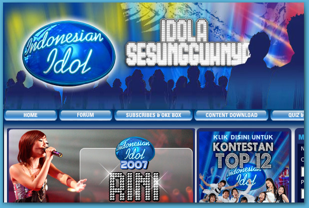 Indonesian Idol 2007 Portal