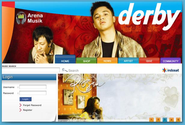 Indosat Arena Musik Portal