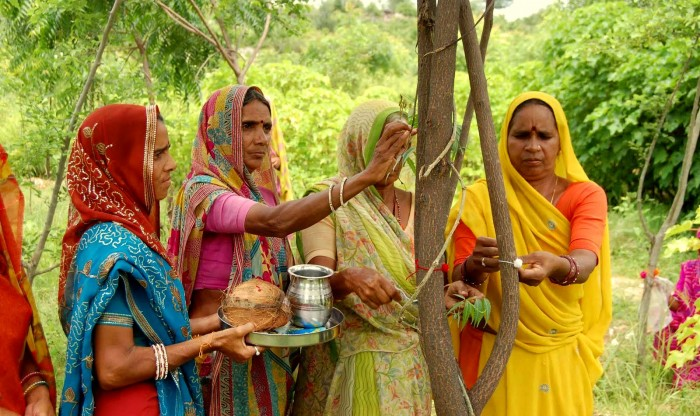 Piplantri Village Women - a home grown brand of Eco-feminism