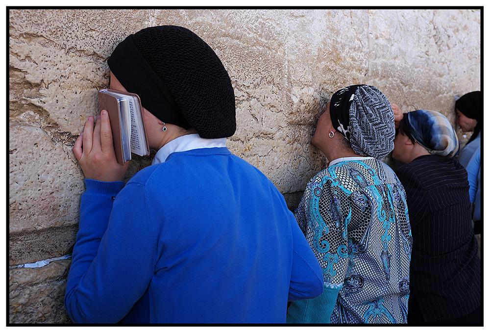 Jérusalem, le kotel. 2015