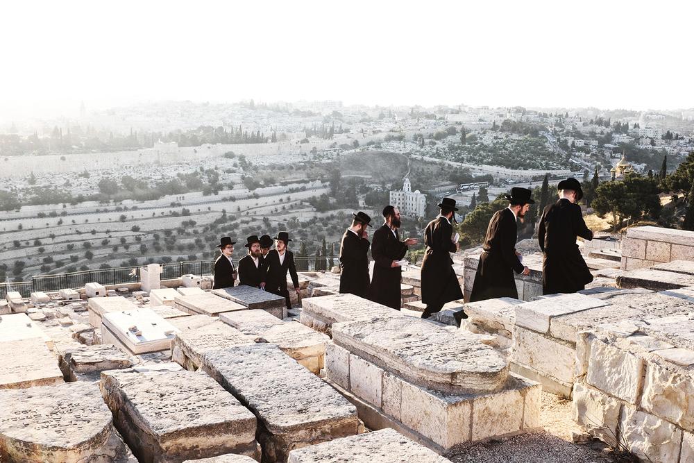 Israël, Jérusalem, le Mont des Oliviers. 2015