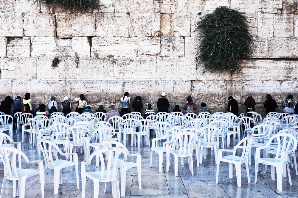 Israël, Jérusalem, le Kotel. 2015
