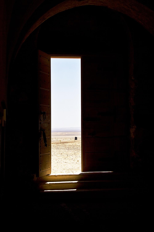 Jordanie, desert castles. 2010
