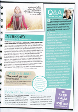Natural Health Magazine In Therapy… 2012