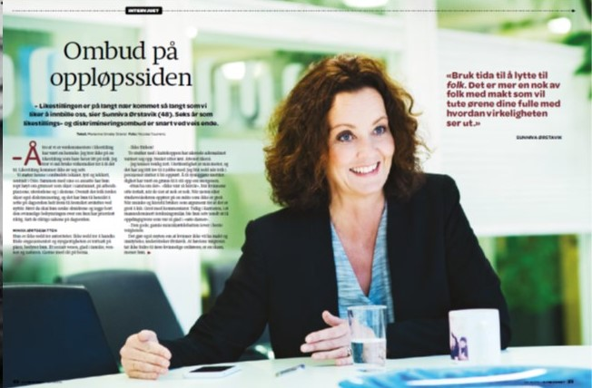 Portrett med Sunniva Ørstavik