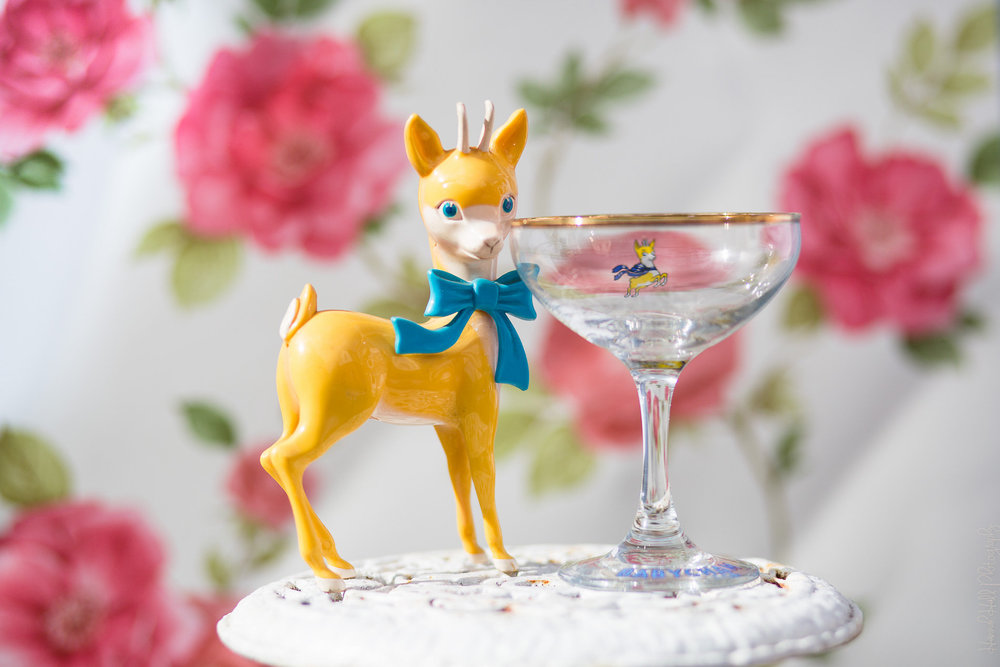 Babycham Glasses – £1 each