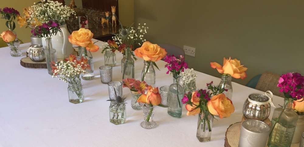 Vintage Bottles & Tea Lights – from 50p