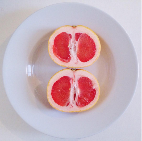 The Wisdom of Fruit - Ruby Red Grapefruit