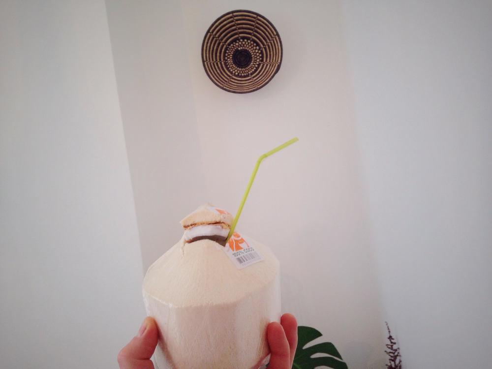 Marathon running - coconut