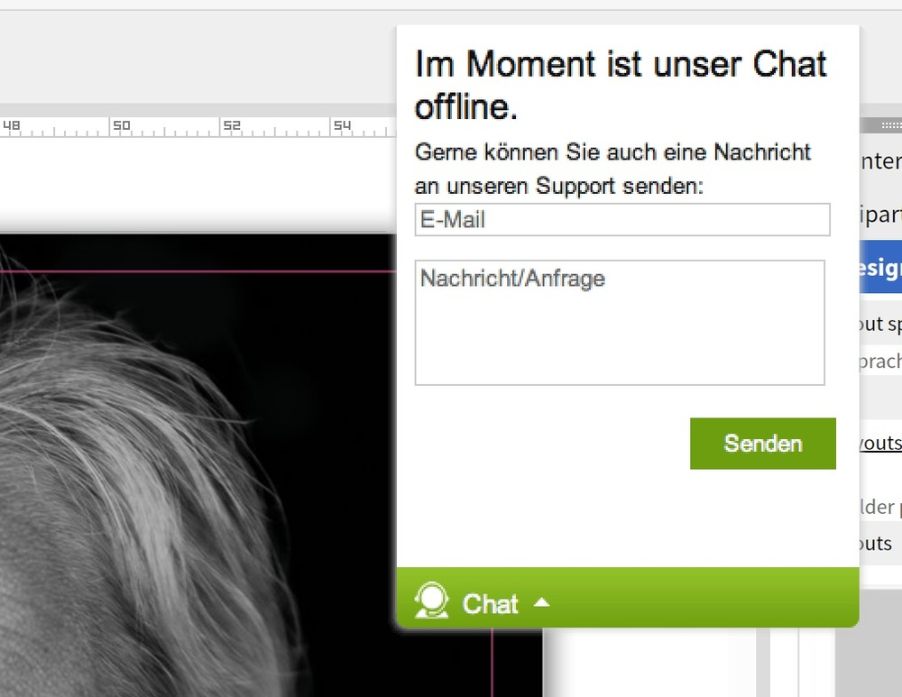 Chatfenster - offline
