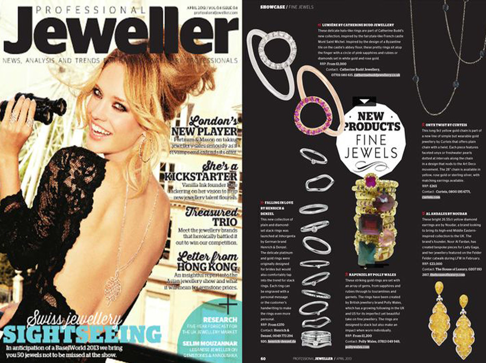 Professional Jeweller April 2013