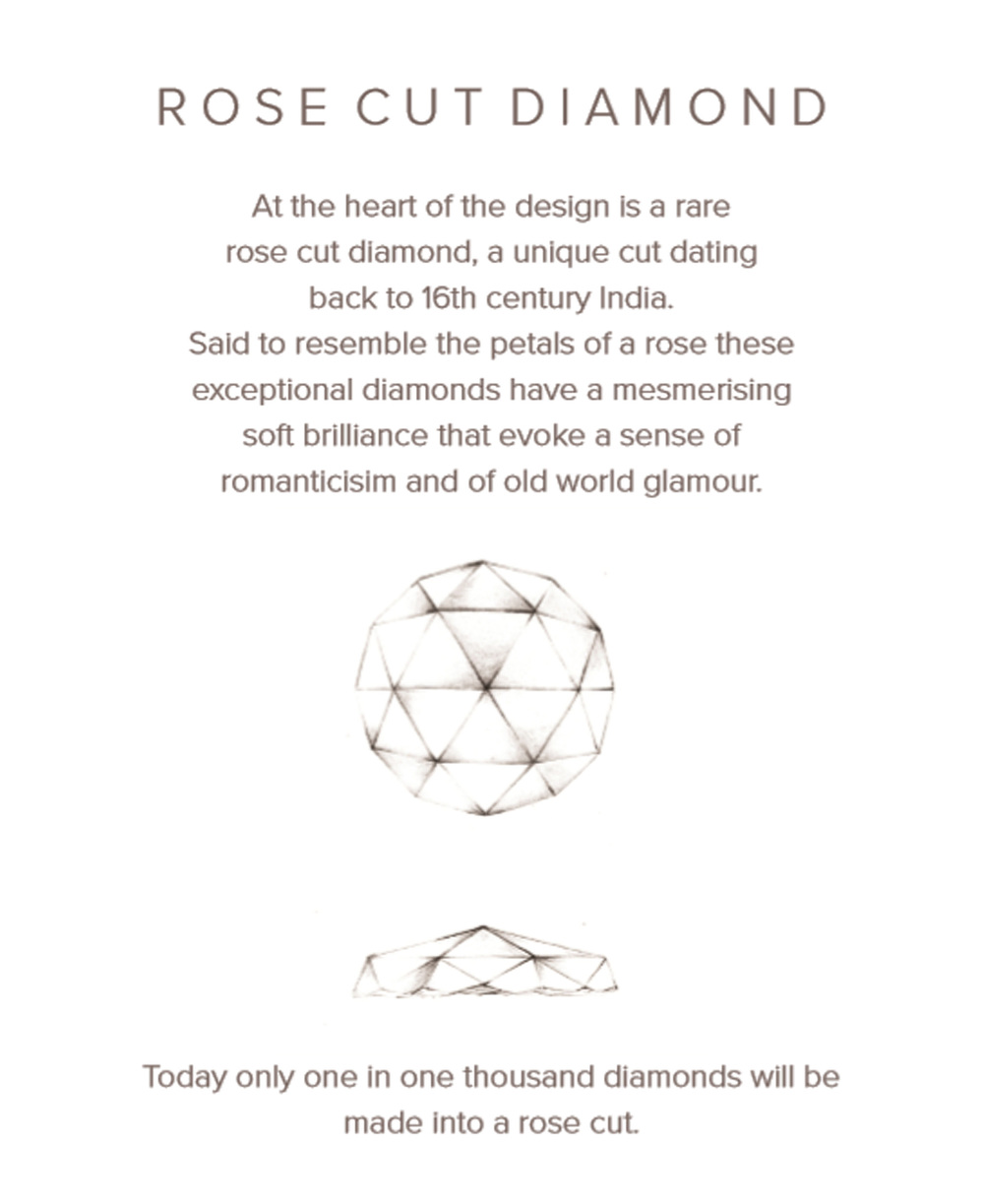 Valentina Rose Cut Diamond