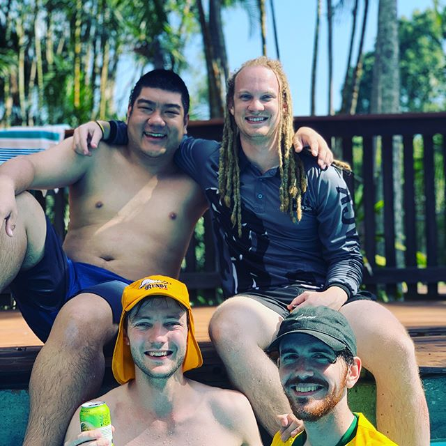 Rivercity's Annual Weekend Getaway was a success! Sun, swims, games, lots of laughs and great friends! 🥳👙☀️🏊🏻‍♂️ #rotaract #rotaractrivercity #summertime #weekendaway #bondingsession